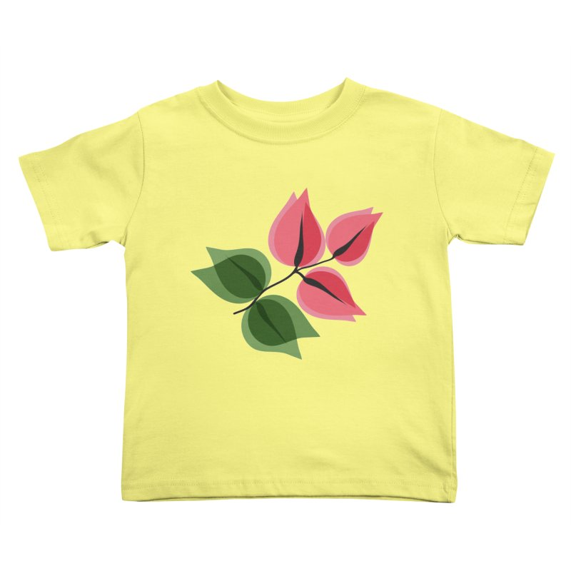 Buganvillea Kids Toddler T-Shirt by Yellow Studio · the Shop!