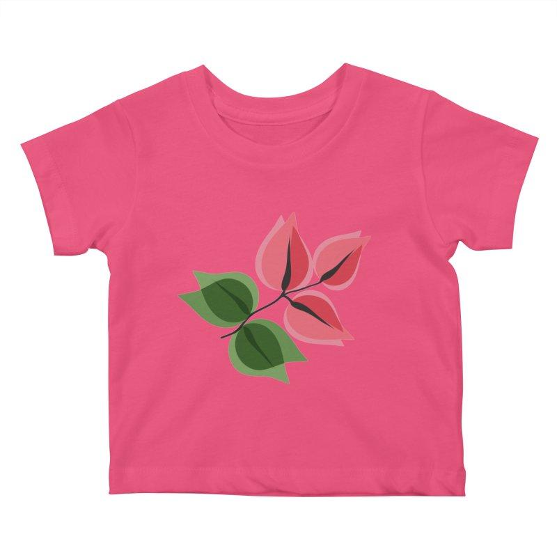 Buganvillea Kids Baby T-Shirt by Yellow Studio · the Shop!