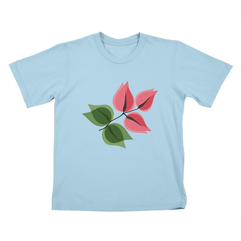 Buganvillea Kids T-Shirt by Yellow Studio · the Shop!