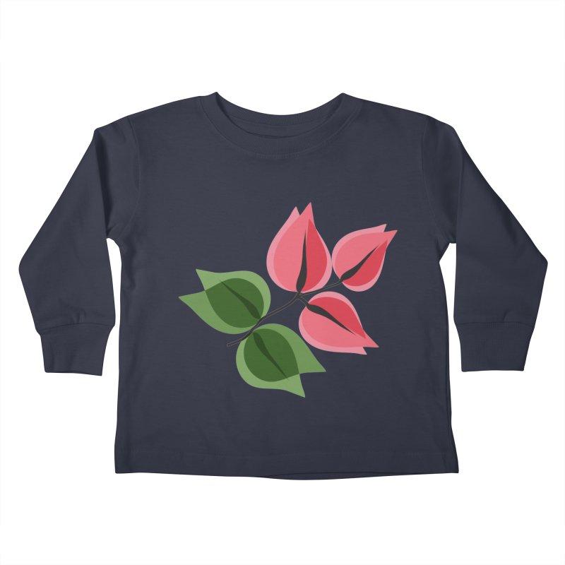 Buganvillea Kids Toddler Longsleeve T-Shirt by Yellow Studio · the Shop!