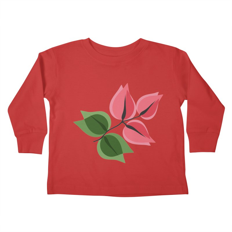 Buganvillea Kids Toddler Longsleeve T-Shirt by Yellow Studio · the Shop!