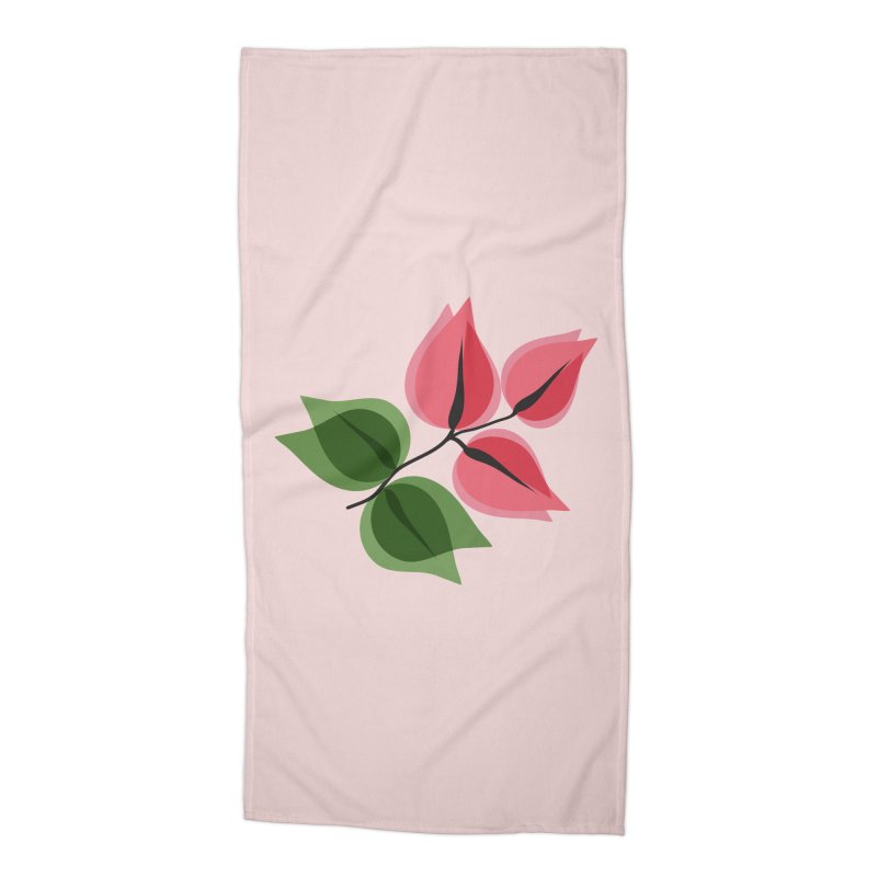 Buganvillea Accessories Beach Towel by Yellow Studio · the Shop!