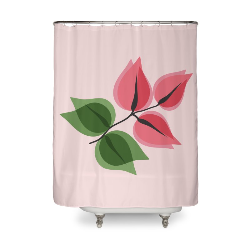 Buganvillea Home Shower Curtain by Yellow Studio · the Shop!