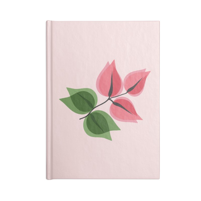 Buganvillea Accessories Blank Journal Notebook by Yellow Studio · the Shop!