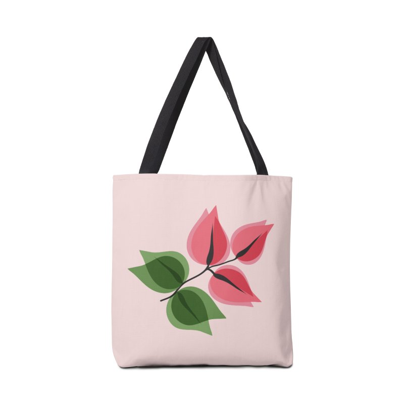 Buganvillea Accessories Tote Bag Bag by Yellow Studio · the Shop!