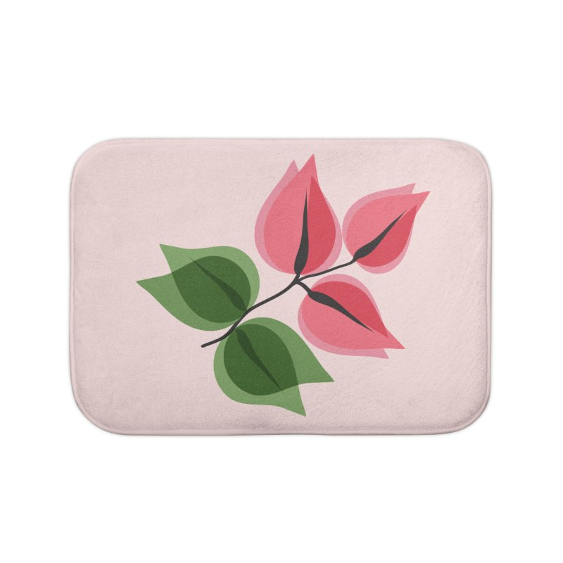 Buganvillea Home Bath Mat by Yellow Studio · the Shop!