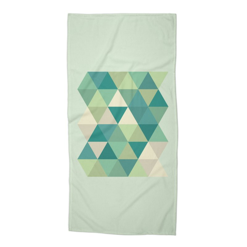 Tropical Rain Accessories Beach Towel by Yellow Studio · the Shop!