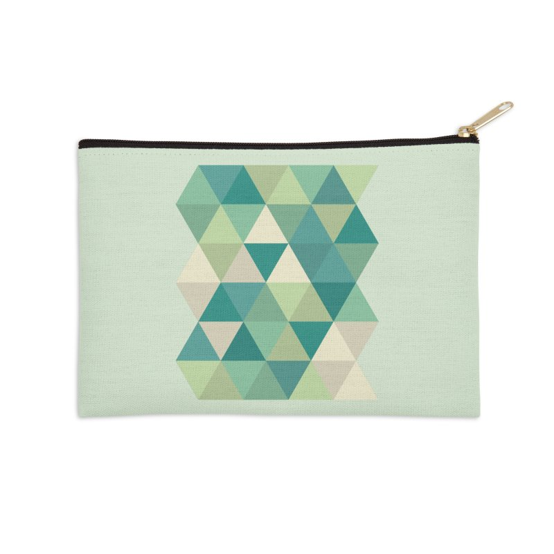 Tropical Rain Accessories Zip Pouch by Yellow Studio · the Shop!