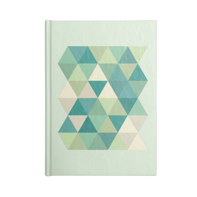 Tropical Rain Accessories Lined Journal Notebook by Yellow Studio · the Shop!