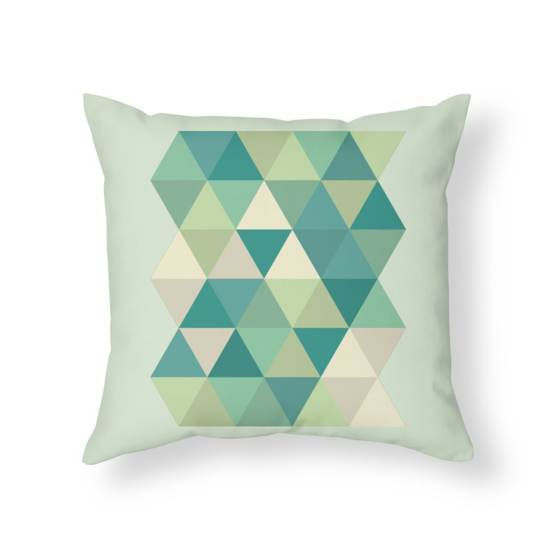 Tropical Rain Home Throw Pillow by Yellow Studio · the Shop!