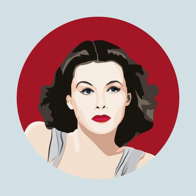 Hedy Lamarr portrait by Yellow Studio · the Shop!