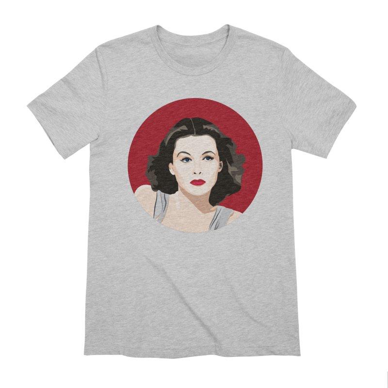 Hedy Lamarr portrait Men's Extra Soft T-Shirt by Yellow Studio · the Shop!