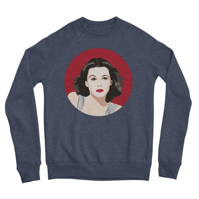 Hedy Lamarr portrait Men's Sponge Fleece Sweatshirt by Yellow Studio · the Shop!