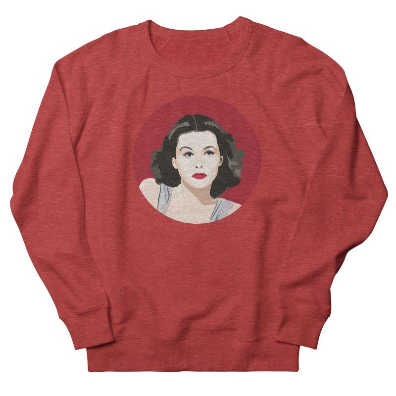 Hedy Lamarr portrait Men's French Terry Sweatshirt by Yellow Studio · the Shop!