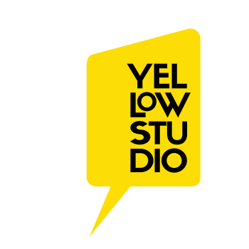 Yellow Studio · the Shop! Logo
