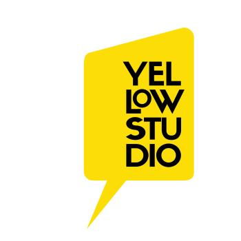 Yellow Studio · the Shop! Logo