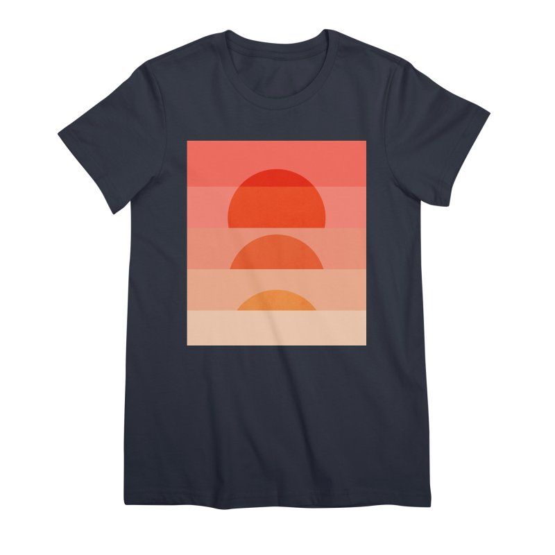 Abstraction_SUNSET_ART_001 Women's Premium T-Shirt by yeohgh