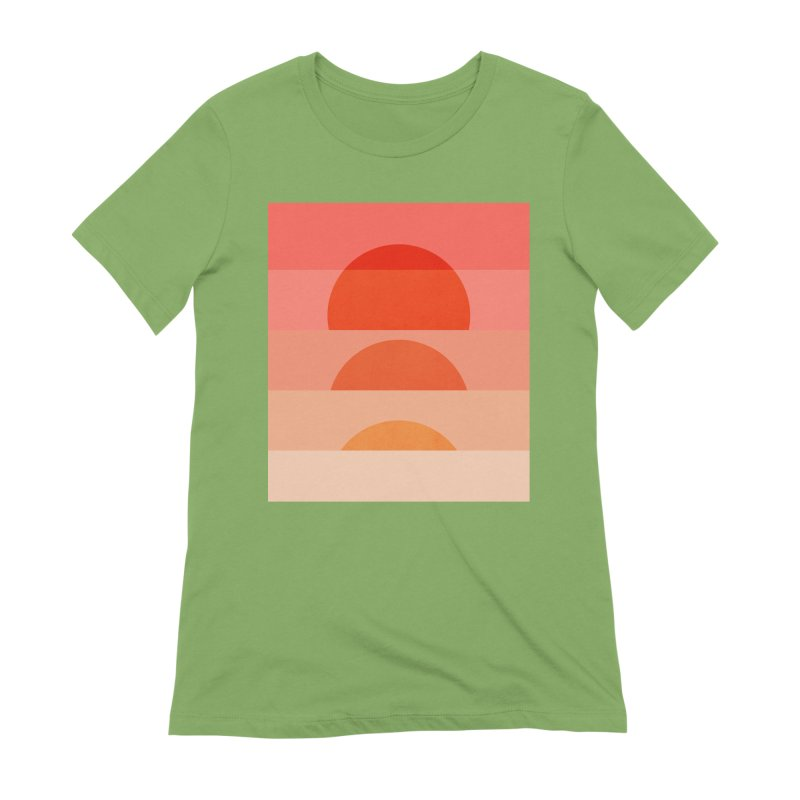 Abstraction_SUNSET_ART_001 Women's Extra Soft T-Shirt by yeohgh