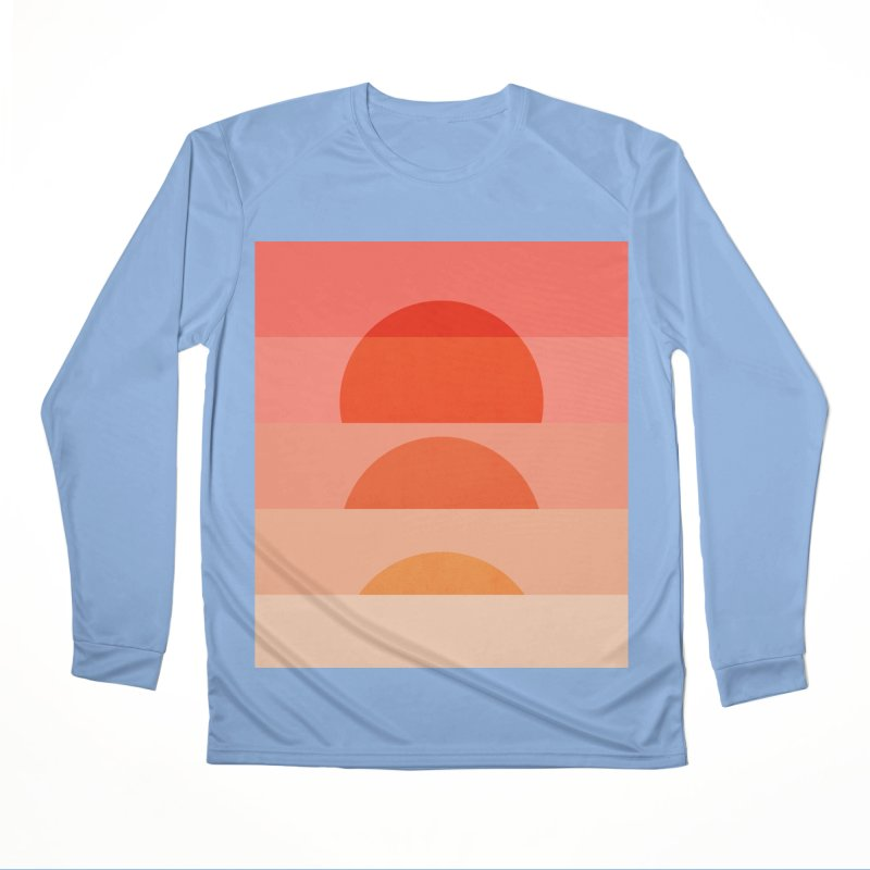 Abstraction_SUNSET_ART_001 Women's Performance Unisex Longsleeve T-Shirt by yeohgh