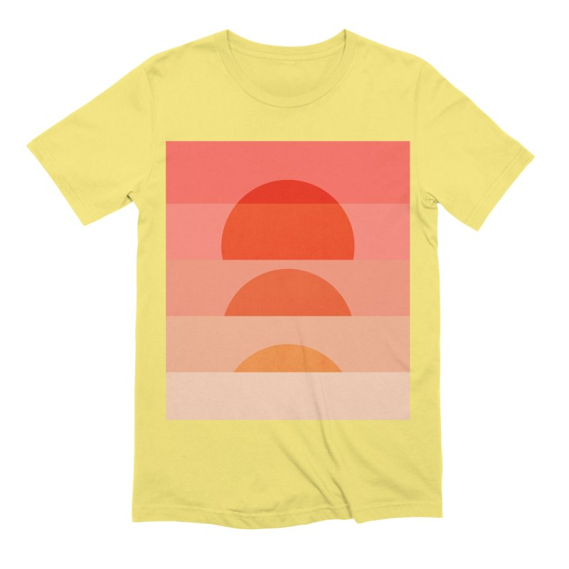 Abstraction_SUNSET_ART_001 Men's Extra Soft T-Shirt by yeohgh