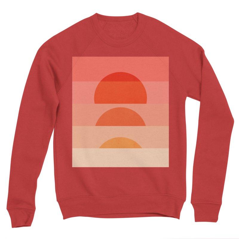 Abstraction_SUNSET_ART_001 Women's Sponge Fleece Sweatshirt by yeohgh