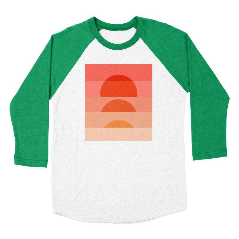Abstraction_SUNSET_ART_001 Women's Baseball Triblend Longsleeve T-Shirt by yeohgh