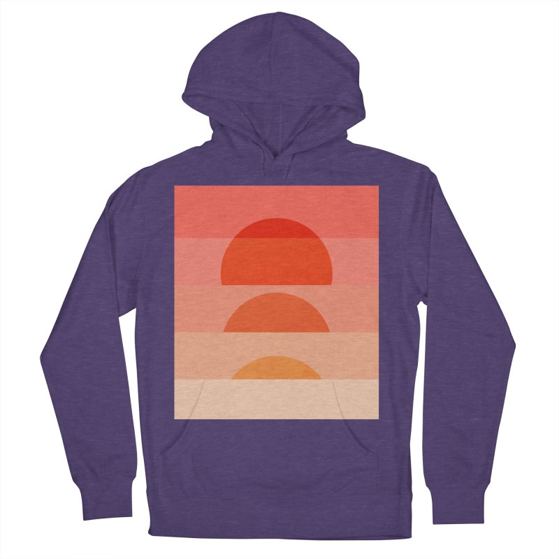 Abstraction_SUNSET_ART_001 Women's French Terry Pullover Hoody by yeohgh