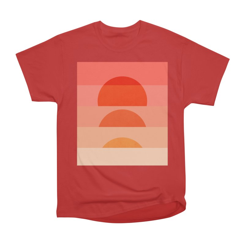 Abstraction_SUNSET_ART_001 Men's Heavyweight T-Shirt by yeohgh