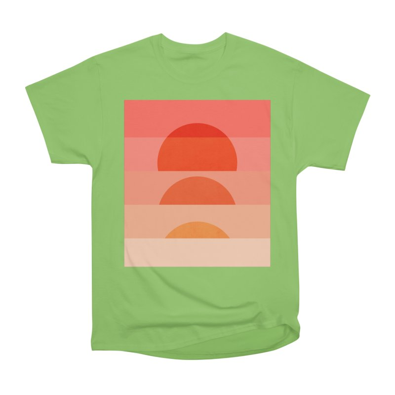 Abstraction_SUNSET_ART_001 Women's Heavyweight Unisex T-Shirt by yeohgh