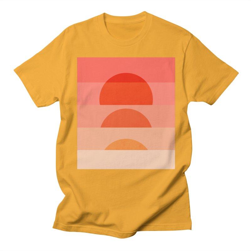 Abstraction_SUNSET_ART_001 Men's Regular T-Shirt by yeohgh