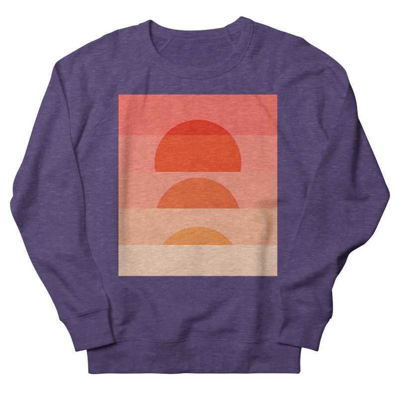 Abstraction_SUNSET_ART_001 Women's French Terry Sweatshirt by yeohgh