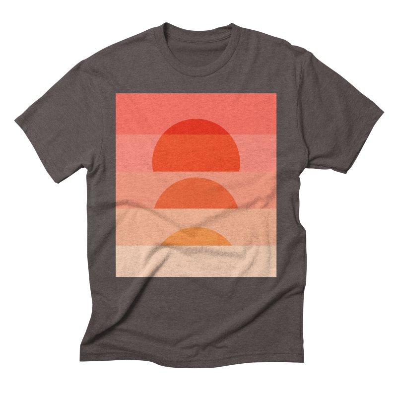 Abstraction_SUNSET_ART_001 Men's Triblend T-Shirt by yeohgh