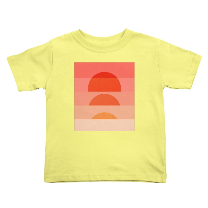 Abstraction_SUNSET_ART_001 Kids Toddler T-Shirt by yeohgh