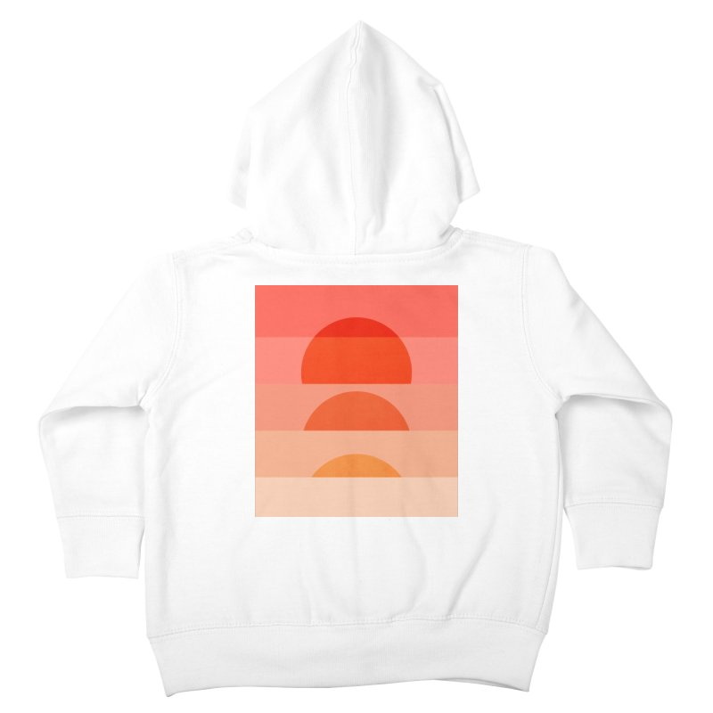 Abstraction_SUNSET_ART_001 Kids Toddler Zip-Up Hoody by yeohgh