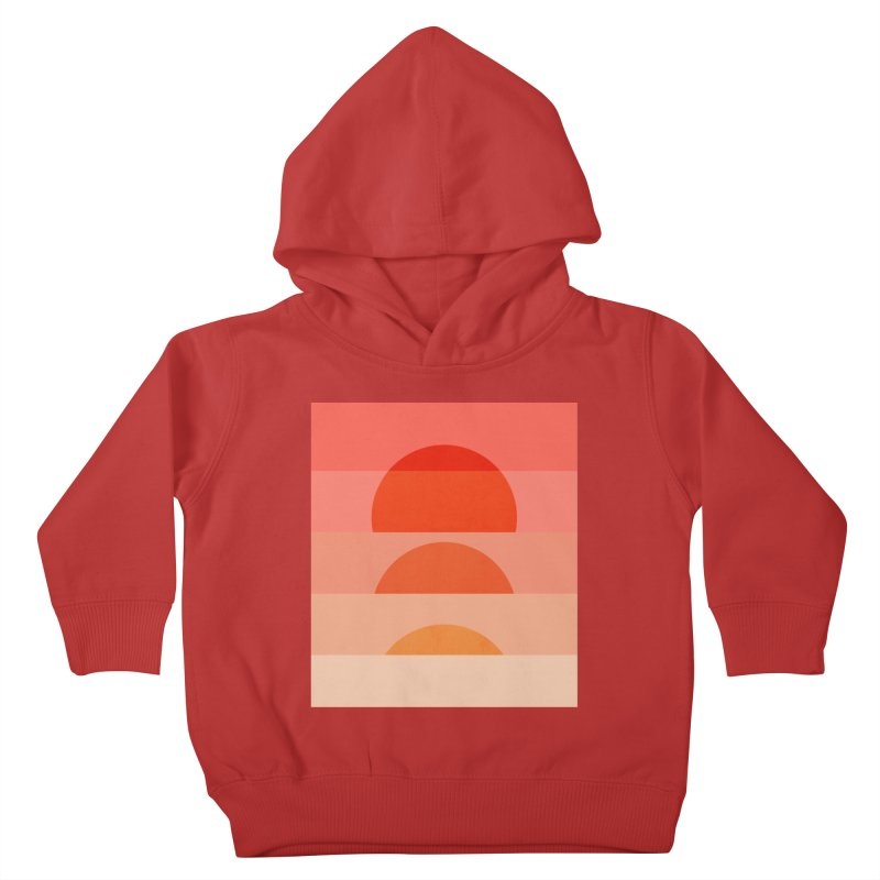 Abstraction_SUNSET_ART_001 Kids Toddler Pullover Hoody by yeohgh