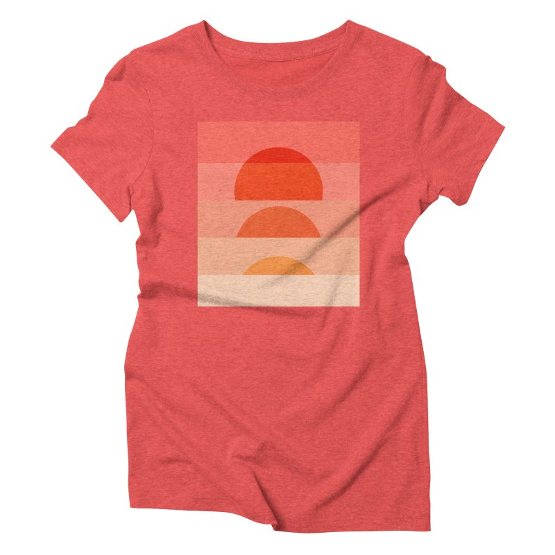 Abstraction_SUNSET_ART_001 Women's Triblend T-Shirt by yeohgh