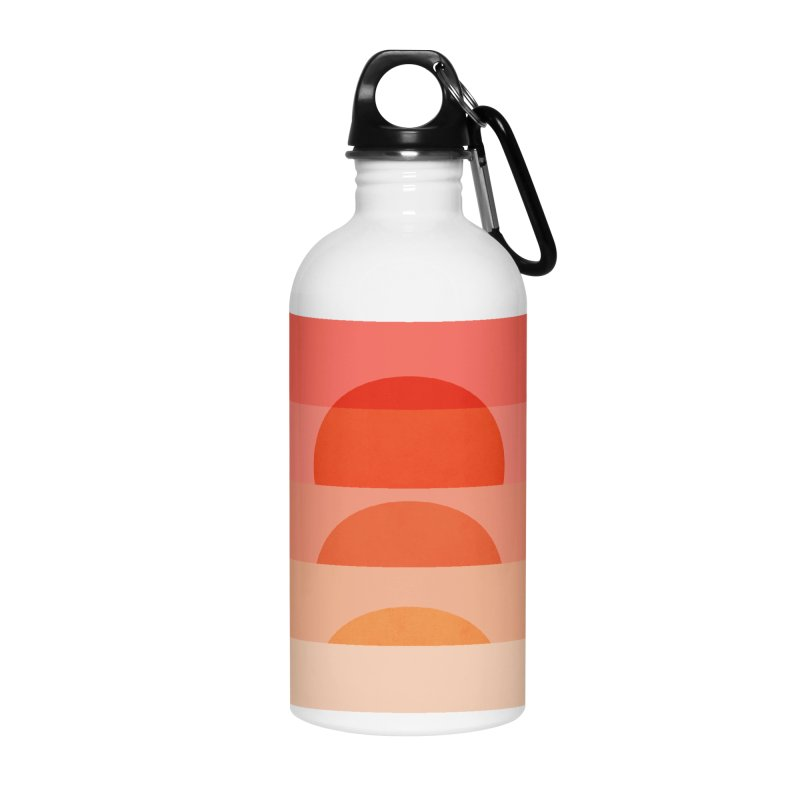 Abstraction_SUNSET_ART_001 Accessories Water Bottle by yeohgh