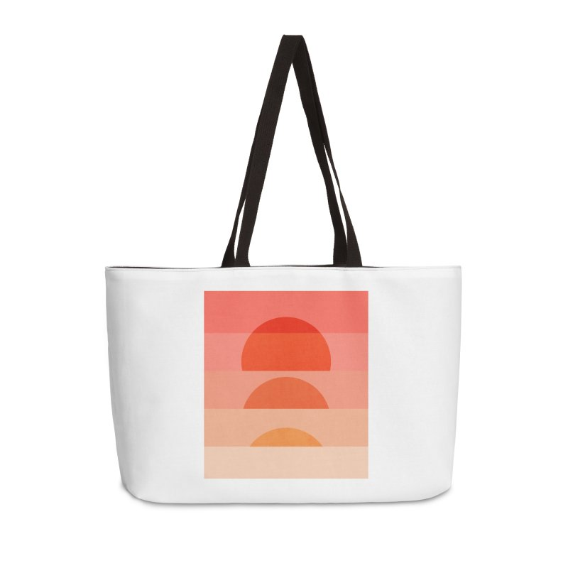 Abstraction_SUNSET_ART_001 Accessories Weekender Bag Bag by yeohgh