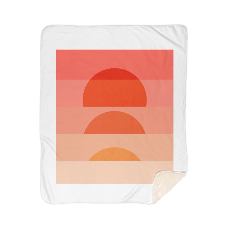 Abstraction_SUNSET_ART_001 Home Sherpa Blanket Blanket by yeohgh