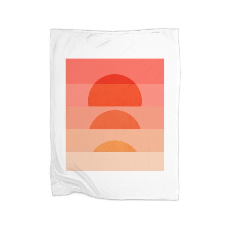 Abstraction_SUNSET_ART_001 Home Fleece Blanket Blanket by yeohgh
