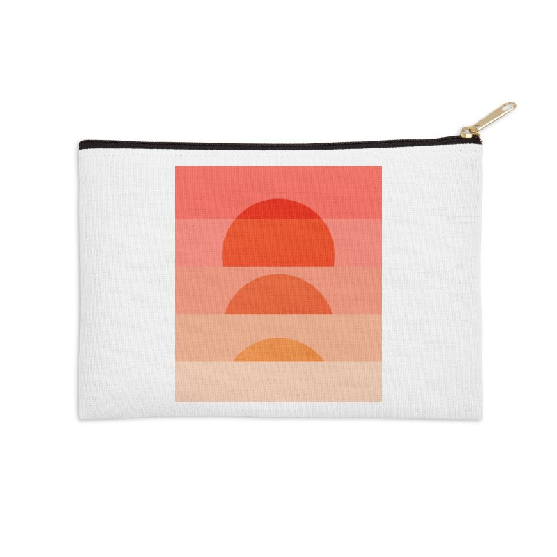 Abstraction_SUNSET_ART_001 Accessories Zip Pouch by yeohgh