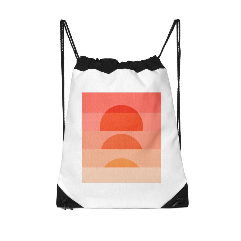 Abstraction_SUNSET_ART_001 Accessories Drawstring Bag Bag by yeohgh
