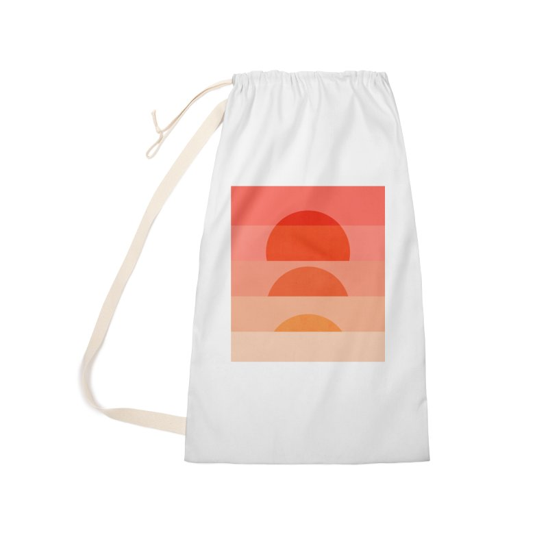 Abstraction_SUNSET_ART_001 Accessories Laundry Bag Bag by yeohgh