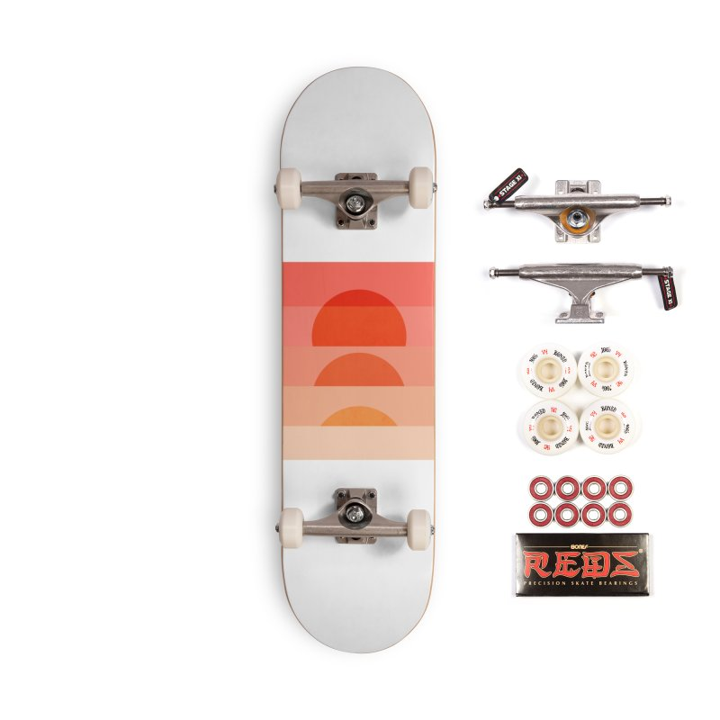 Abstraction_SUNSET_ART_001 Accessories Skateboard by yeohgh