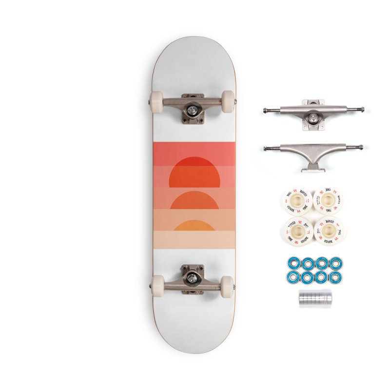 Abstraction_SUNSET_ART_001 Accessories Complete - Premium Skateboard by yeohgh