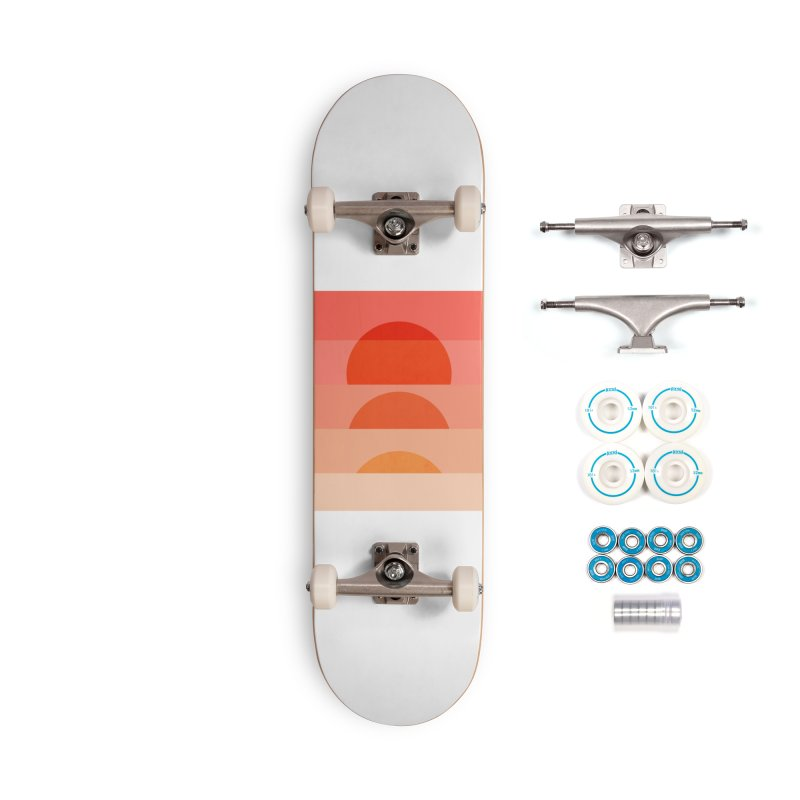 Abstraction_SUNSET_ART_001 Accessories Complete - Basic Skateboard by yeohgh