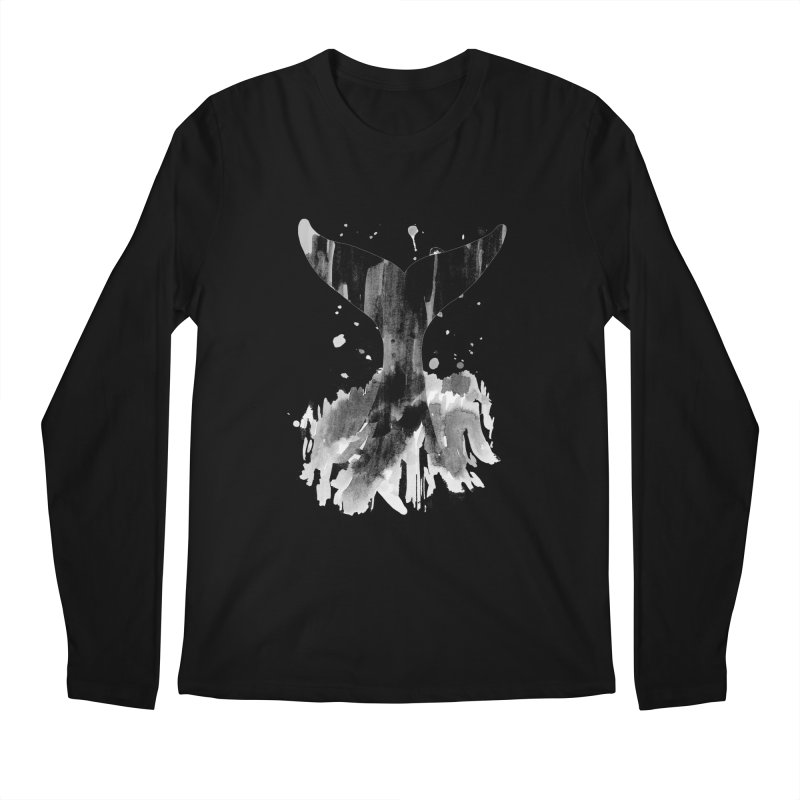 Splash Men's Regular Longsleeve T-Shirt by yeohgh