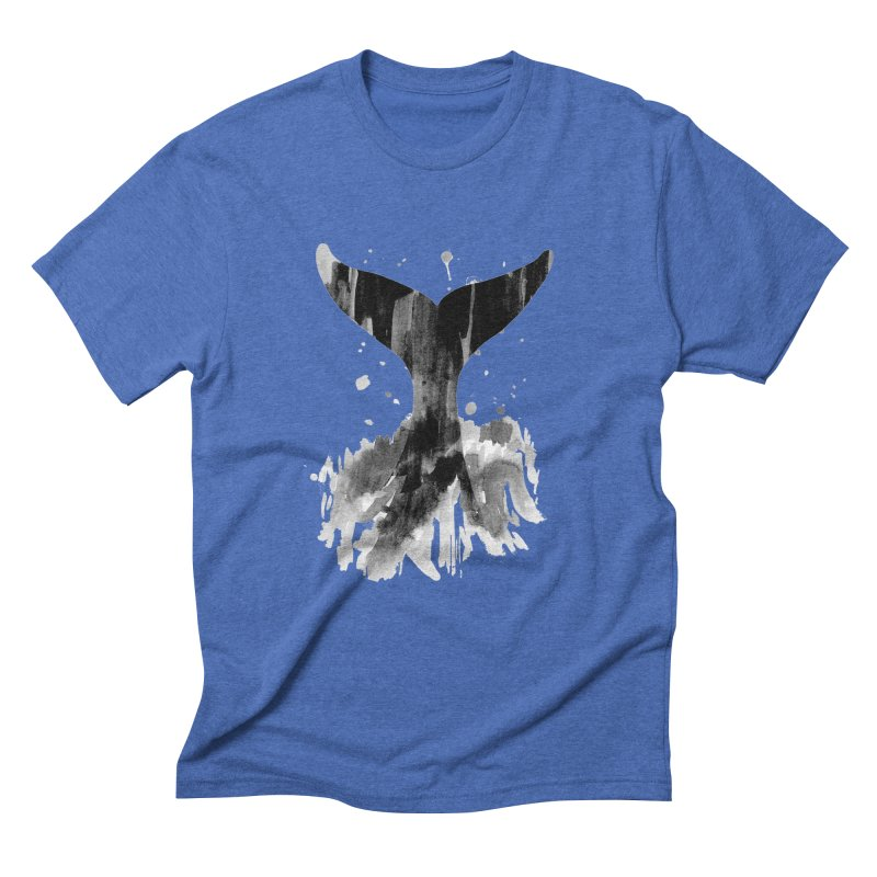 Splash Men's Triblend T-Shirt by yeohgh