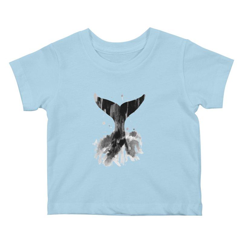 Splash Kids Baby T-Shirt by yeohgh