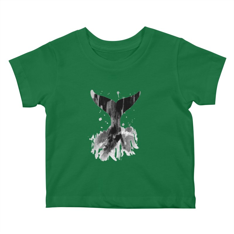 Splash Kids Baby T-Shirt by yeohgh